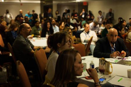Photos of day two of the New Music Seminar at The New Yorker Hotel, NYC. June 10, 2013.