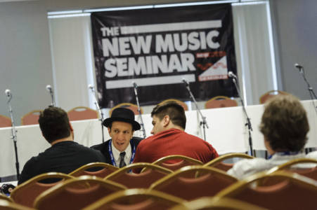 Photos of the New Music Seminar conference at the New Yorker Hotel, NYC. June 11, 2013.