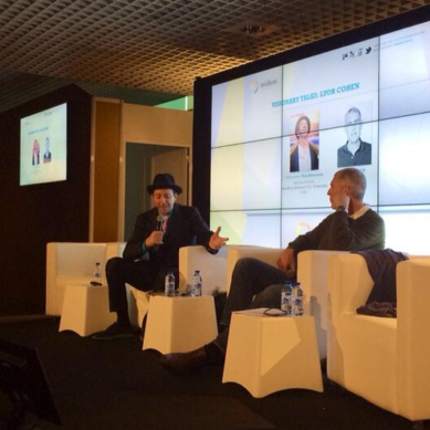 Watch Lyor Cohen's Keynote Q&A With Tom Silverman at Midem 2014