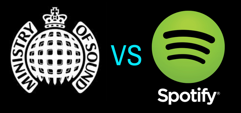 Ministry of sound v Spotify Compilation Copyright
