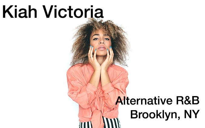 Kiah Victoria, Alternative R and B, Brooklyn, NY