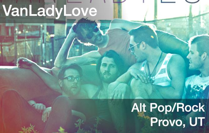 vanladylove, alt pop/rock music, provo, utah