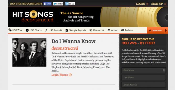 HSD-Do I Wanna Know
