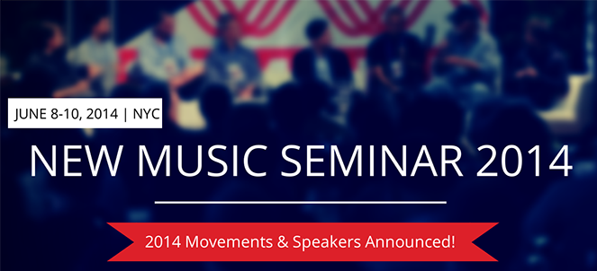 New Music Seminar 2014 Announces First Round of Players & Movement Schedule