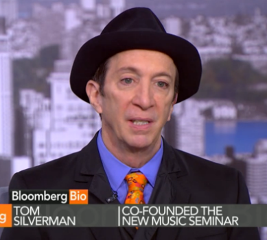 Watch Tom Silverman on Bloomberg: Is Streaming Savior of Music Business?