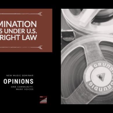 Termination Rights Under U.S. Copyright Law